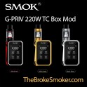 G-PRIV 220W TC Touch Screen Box Mod by SMOK
