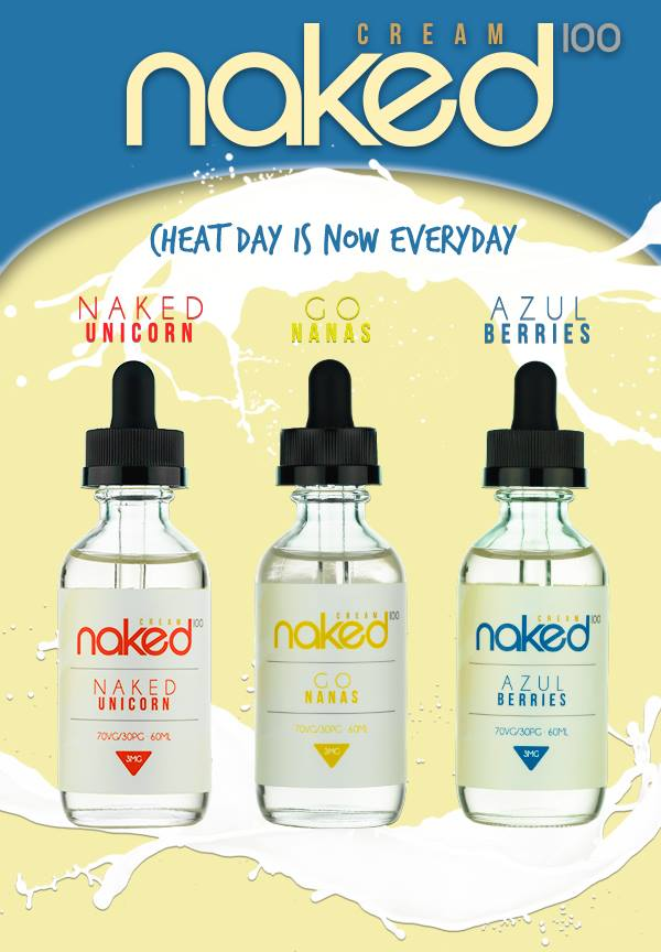 New Naked E-Juices