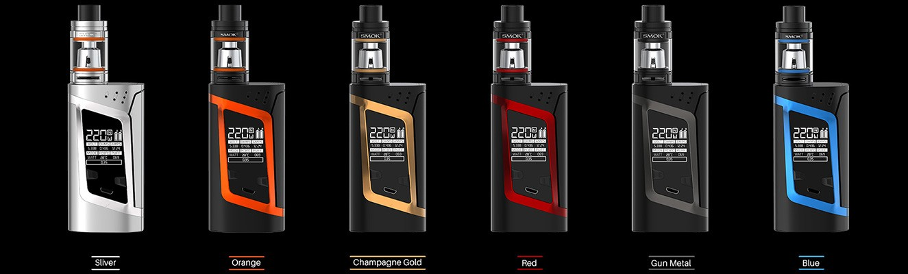 ALIEN 220W by SMOK buy yours now from TheBrokeSmoker.com