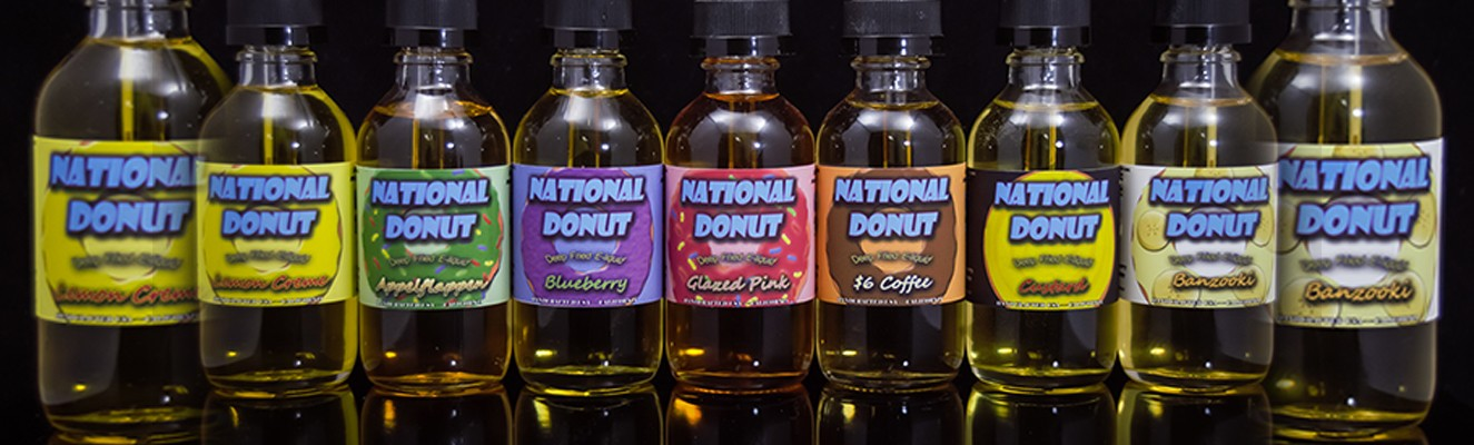 National Donut E-Liquid try this deep fried yummy goodness!