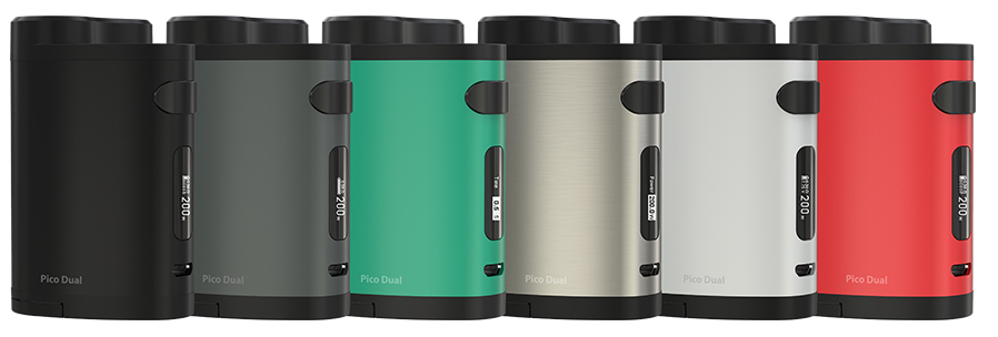 The NEW PICO DUAL from Eleaf Get Yours today at TheBrokeSmoker.com