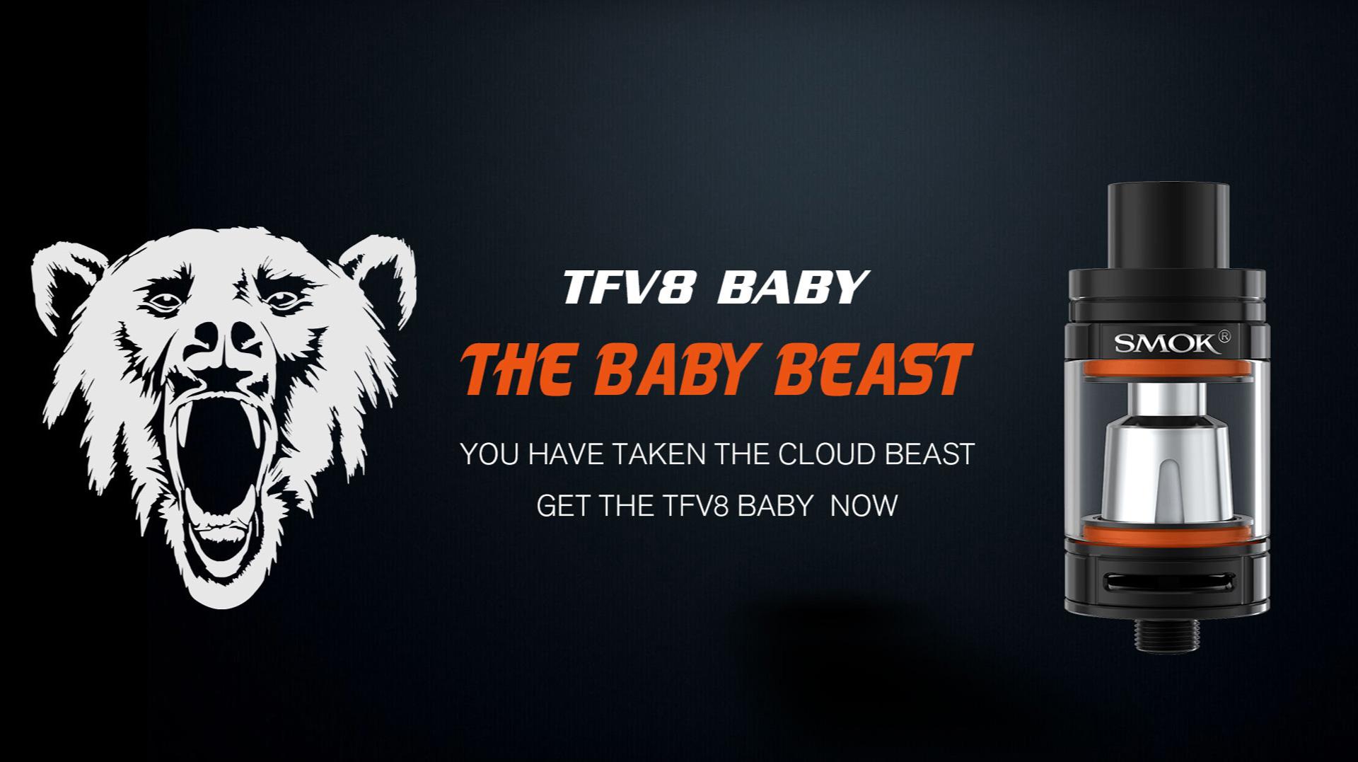 SMOK AL85 Kit TFV8 Baby Beast
