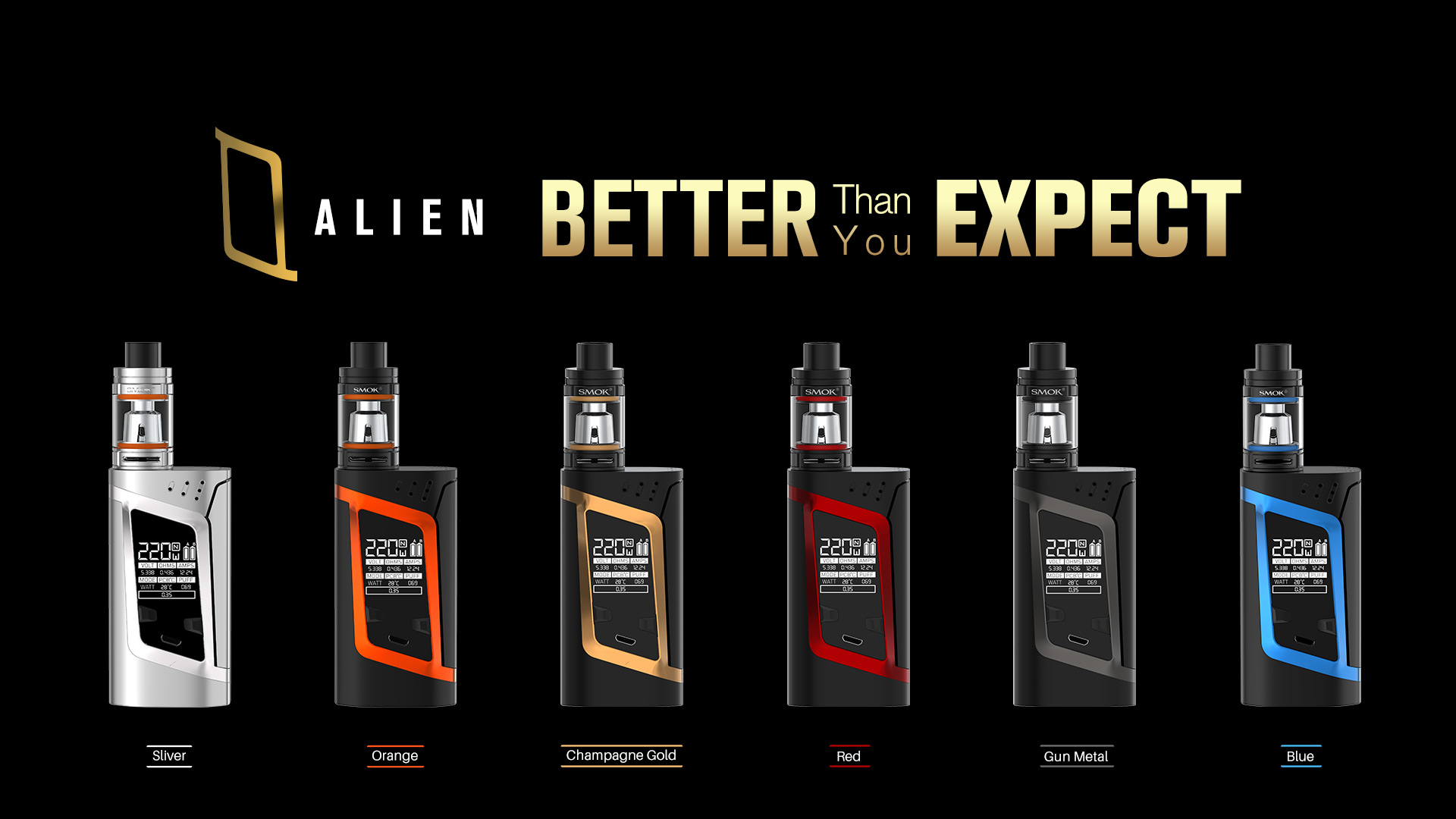Alien Kit by SMOK buy now from thebrokesmoker.com