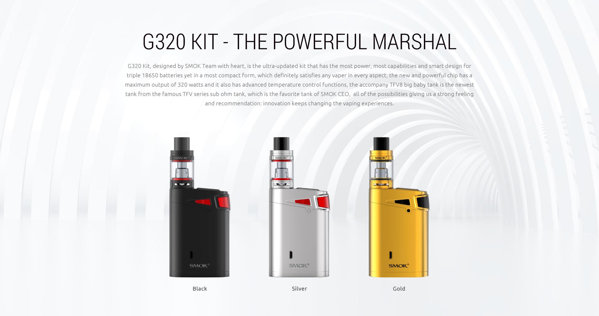 SMOK G320 Kit The Powerful MArshal