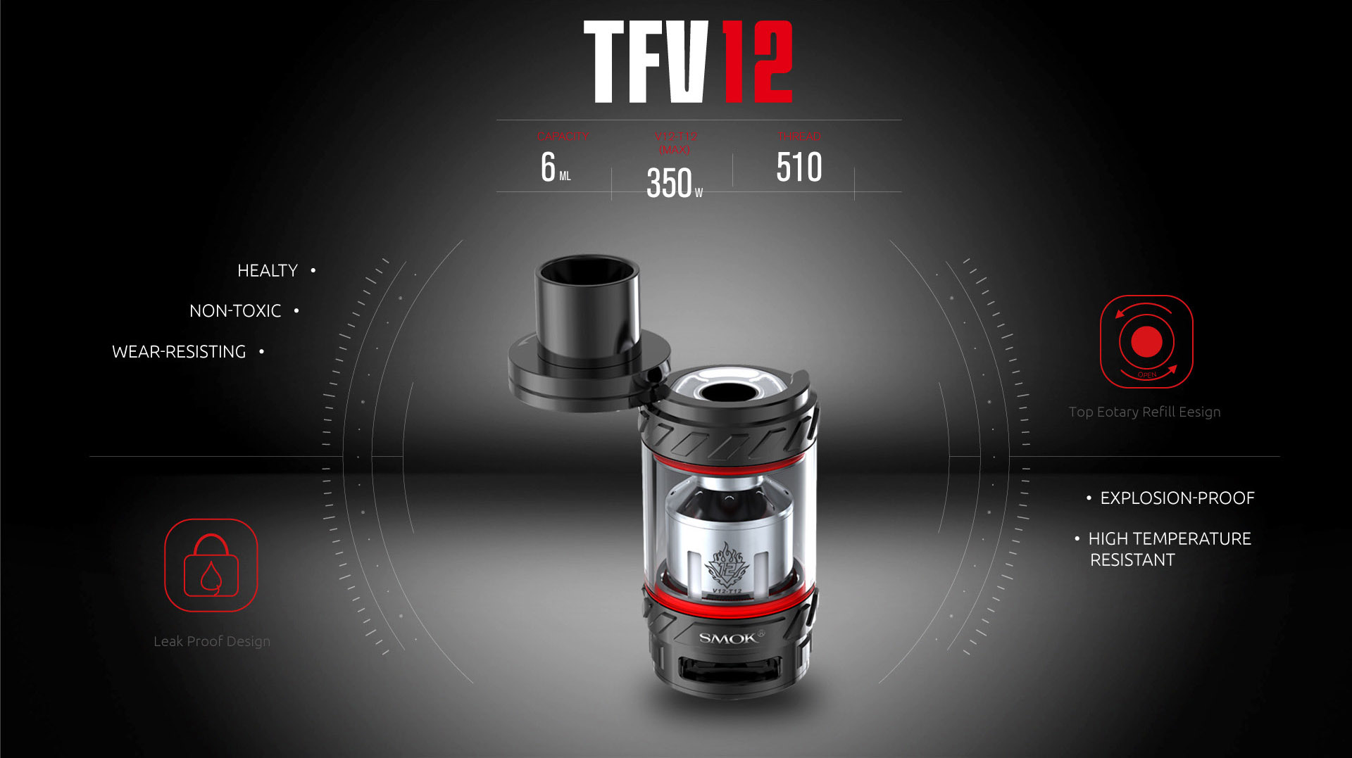 TFV12 Explosion Proof Top Rotary Fill Design