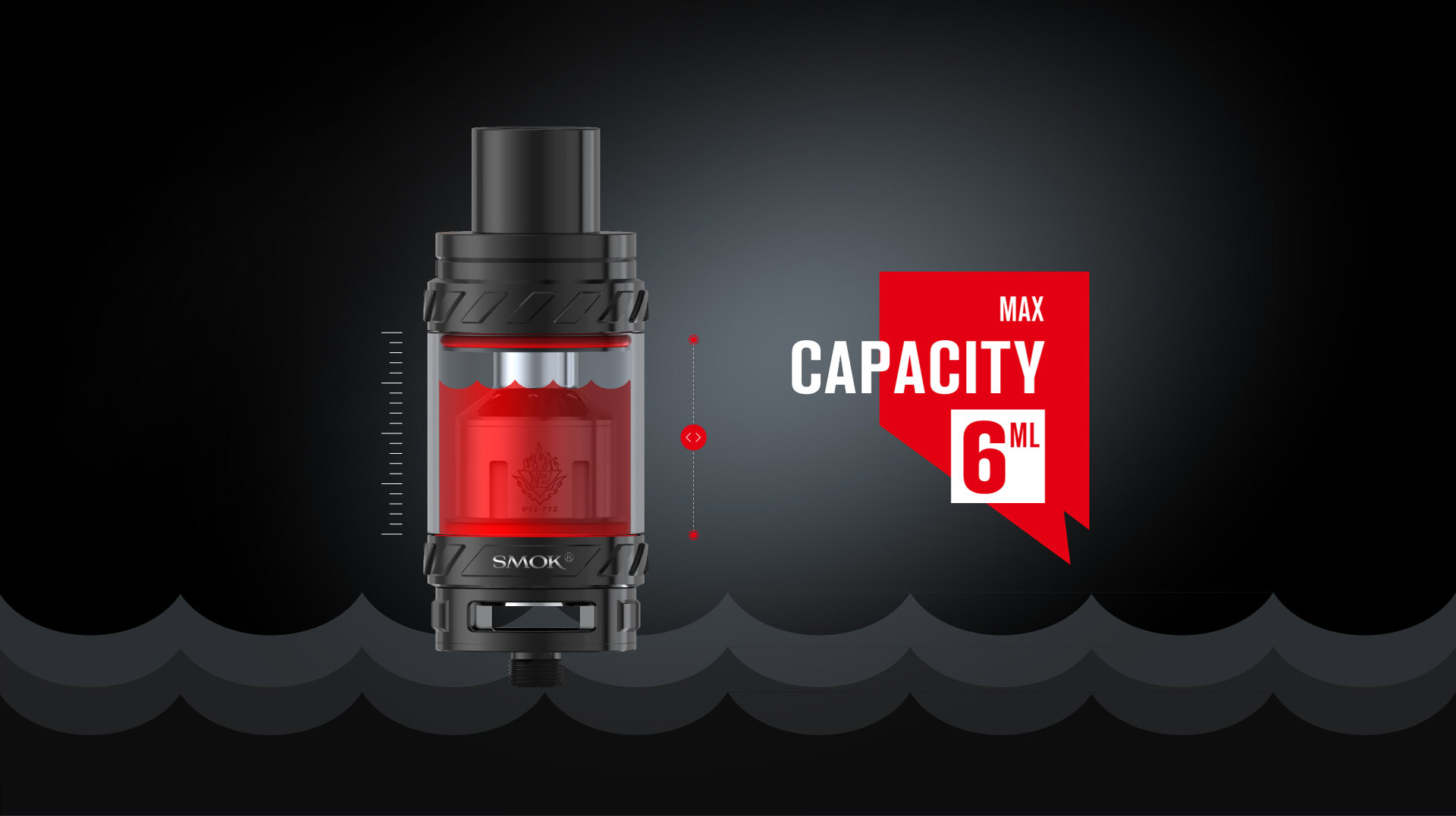 TFV12 by SMOK 6ml MAX CAPACITY